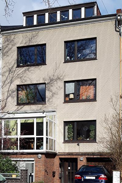 Humboldtstraße 24, Bremen, Ansicht Gebäude