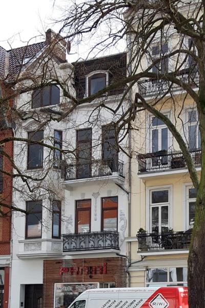 Parkallee 19, Bremen, Ansicht Immobilie